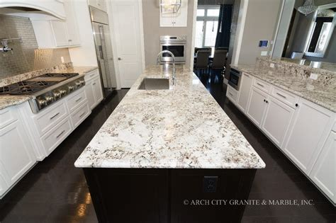 White Kitchens With Granite Countertops by 12 Trending White Granite Colors In 2018