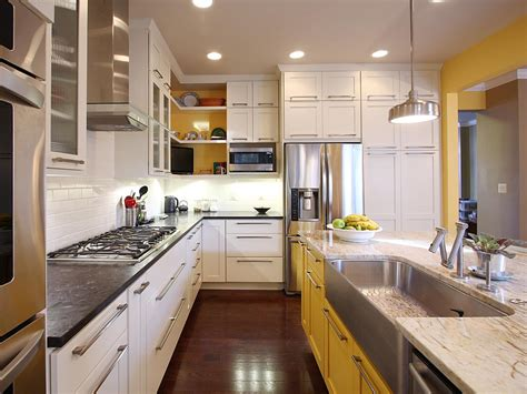 best paint for white kitchen cabinets best way to paint kitchen cabinets hgtv pictures ideas 9180