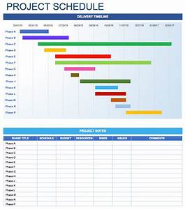 free daily schedule templates for excel smartsheet With it project schedule template