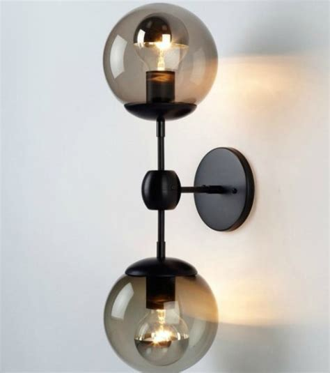 wall sconces lighting modern bathroom wall sconces
