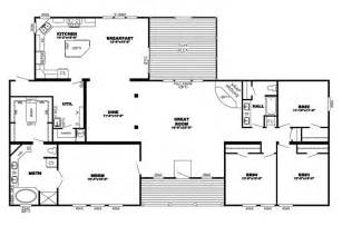 triple wide manufactured homes floor plans home