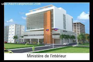 ministry of interior building plan ministere de l interieur