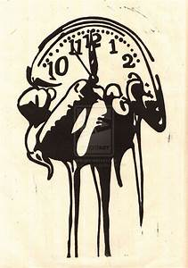 27 best Melting Clock Tattoo Drawings images on Pinterest ...