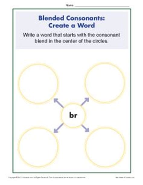 consonant blends worksheets br phonics worksheets