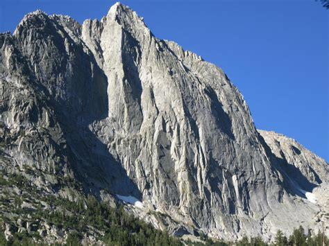 Rock Climb Edge Time Arete High Sierra