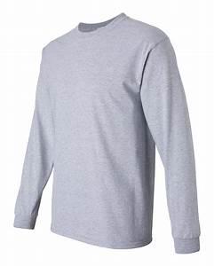 Light Purple Long Sleeve Gildan 2400 Ultra Cotton Long Sleeve T Shirt Friendly