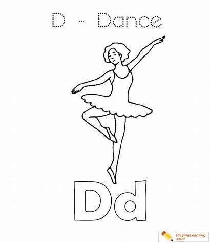 Coloring Dance Sheet