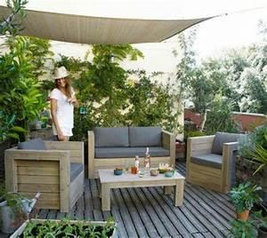 1000 idees sur le theme terrasses sur pinterest salle de With exceptional amenagement terrasse et jardin 9 pose des palissades dans le beton palissade