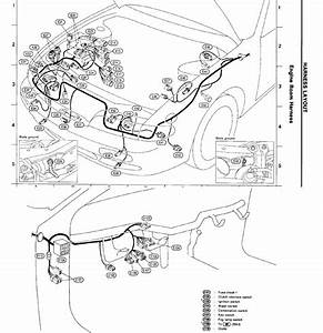 1995 Saab Engine Wiring Harnes