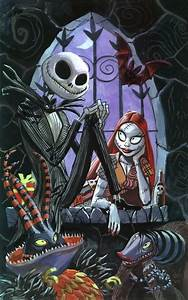 Jack Skellington and Sally from The Nightmare Before ...