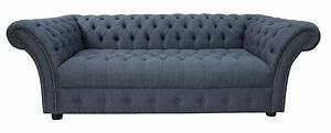 Chesterfield Sofa Glasgow : marine blue chesterfield balmoral 3 seater sofa designersofas4u ~ Markanthonyermac.com Haus und Dekorationen