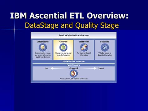 etl overview extract transform  load