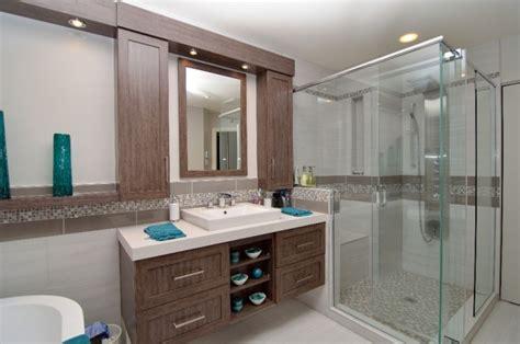 entreprise renovation salle de bain r 233 novation d une salle de bain d un appartement 224 16 la moderne