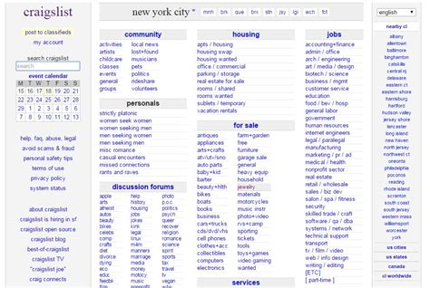 New York Resumes Craigslist by Craigslist Login Details Sign In To Take Part
