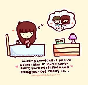 Cute Quotes Missing Someone. QuotesGram