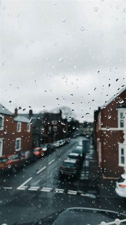 Aesthetic Rain Wallpapers Desktop Quotes Rainy Backgrounds