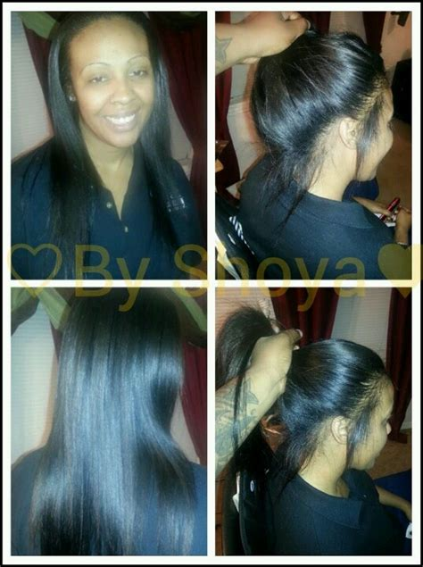 Sew In Ponytail Hairstyles by Sew In Ponytail Hair And Makeup Sew