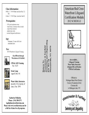 american red cross emergency contact card forms