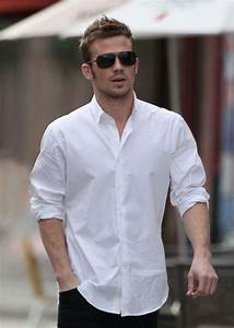 Men Who Wear White Shirts Is The Most Handsome! - Men ...