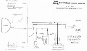 New Hardwiring Diagram For 12v Motobecane  U2014 Moped Army