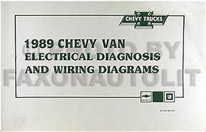 1989 Chevy G Van Wiring Diagram Manual G10 G20 G30