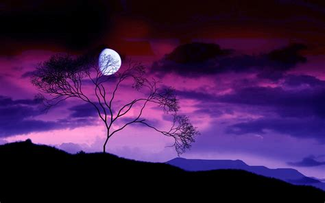 Moon Background Hd Desktop Wallpaper 16398