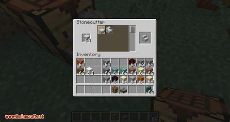 minecraft  snapshot wa stonecutter  ways