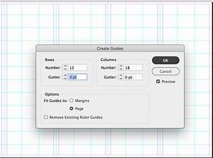 Creating Guides For A Map Brochure In Creative Cloud Or