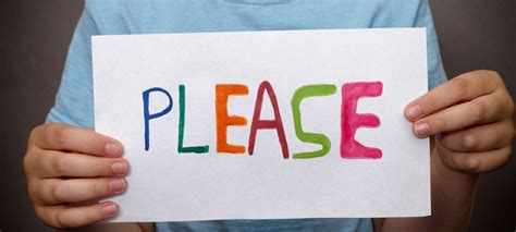 Is It Necessary To Say 'please' In America? Anglophenia