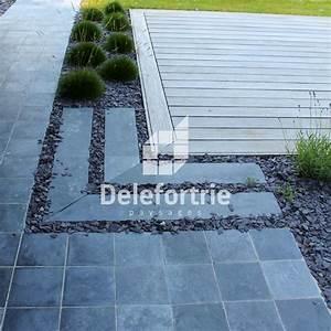 La Pierre Bleue : terrasse en pierre bleue d 39 asie delefortrie paysages ~ Melissatoandfro.com Idées de Décoration