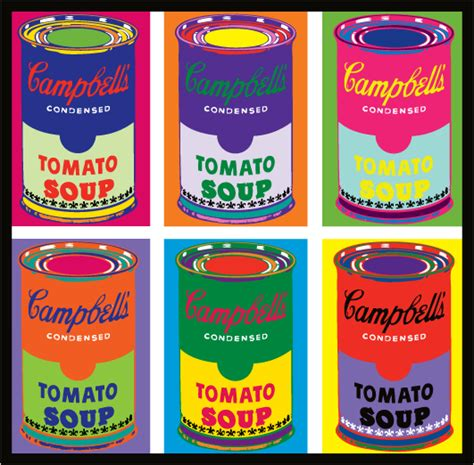 Cbell Tomato Soup Andy Warhol by Kk Studio Pop Gallery