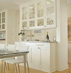 Glass Dining Room Wall Cabinets Kitchen