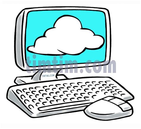 computer cartoon drawing  getdrawingscom
