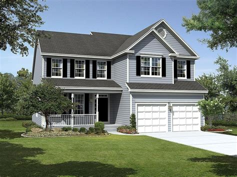 Single Family Houses : Linganore Floor Plan In Holly Ridge Single-family Homes