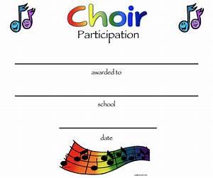 Chorus certificates awards technologi information for Choir certificate template