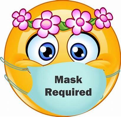 Face Happy Mask Sticker Coronavirus Female Male