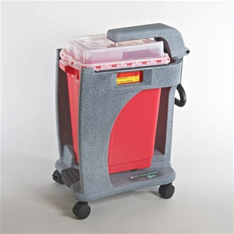 Foot-operated BD Recykleen Trolley for 19 Gallon C ...