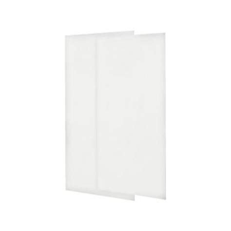 Shower Panels Home Depot - swanstone 36 in x 72 in two easy up adhesive