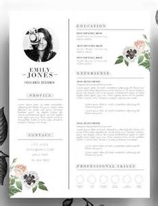 floral designer resume template 25 best ideas about creative cv design on creative cv curriculum and layout cv