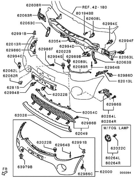 front bumper support for 2009 mitsubishi l200 triton