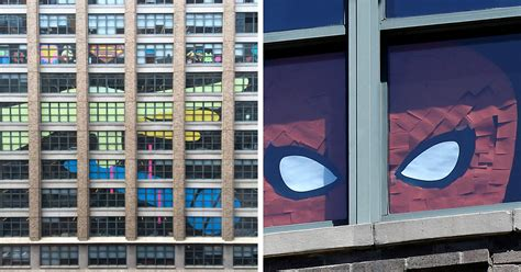 sticky notes war   office buildings