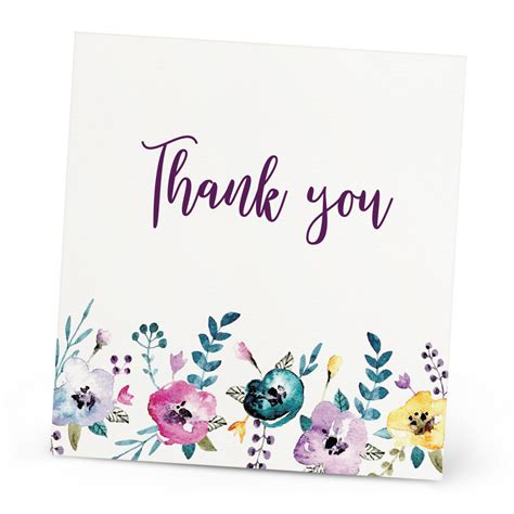 animal thank you card template personalised wedding thank you card beautiful wishes