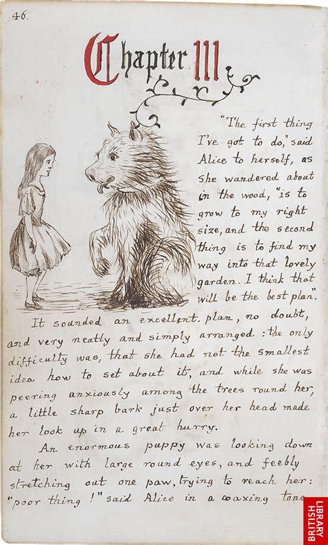 lewis carrolls original illustrations  alices