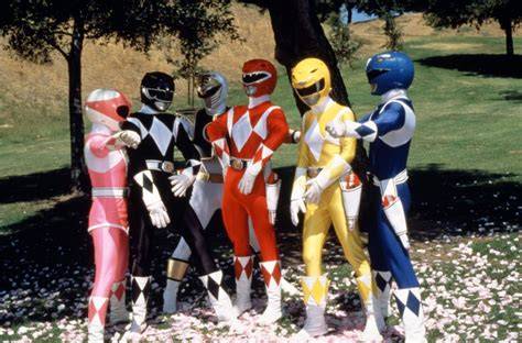 henshin grid power rangers in america on set and promos