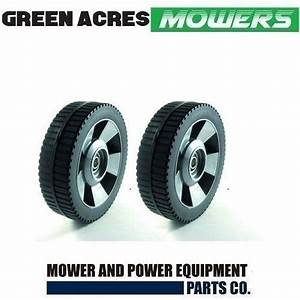 2 X 6 1  2 Inch Wheels For Rover Lawn Mowers