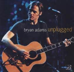 Bryan Adams Unplugged USA Promo CD album (CDLP) (112394)