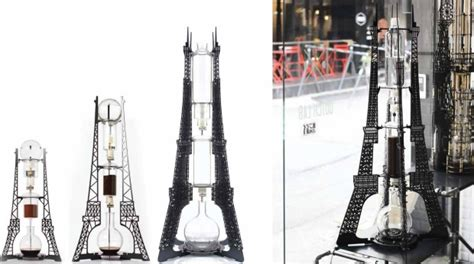 Enjoy Coffee with an Eiffel Tower Cold Brew Coffee Tower