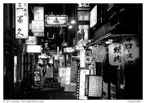 black  white picturephoto narrow alley