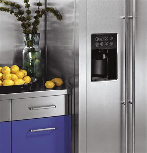 zfsbdxss ge monogram  standing side  side refrigerator monogram appliances