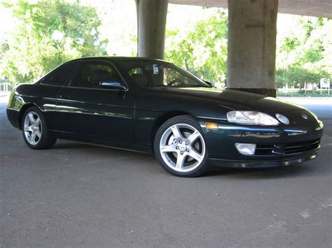 lexus sc400 lowered new mods eibach lowering springs and painted brake